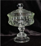 Click here to enlarge image and see more about item 456: King's Crown Pattern Candy Dish