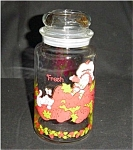 Click here to enlarge image and see more about item 458s: Strawberry Shortcake Jar