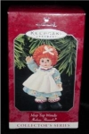 Click here to enlarge image and see more about item 45h: Mop Top Wendy Hallmark Ornament