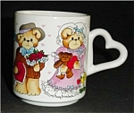 Click here to enlarge image and see more about item 460s: Enesco 1985 Lucky and Me Coffee Mug