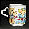 Click to view larger image of Enesco 1985 Lucky and Me Coffee Mug (Image2)
