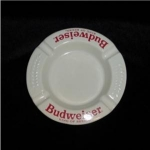 Click here to enlarge image and see more about item 465:  Budweiser Ashtray