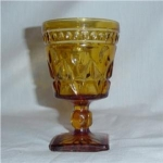 Click here to enlarge image and see more about item 466: Colony Park Lane Footed Goblet
