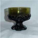 Click here to enlarge image and see more about item 467: Tiffin Glass Sherbert Dish