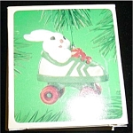 Roller Skating Rabbit Hallmark Ornament