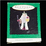 Centuries of Santa Mini Hallmark Ornament