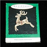 Dazzling Raindeer Miniature Hallmark Ornament