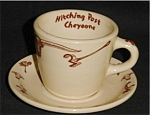 Click here to enlarge image and see more about item 485s: Wallace China Cup and Saucer Set