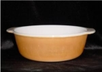 Click here to enlarge image and see more about item 489: Fire King 2 Quart Casserole Dish