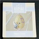 Click here to enlarge image and see more about item 495h: 1992 Eggspert Painter Hallmark Ornament
