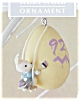 Click to view larger image of 1992 Eggspert Painter Hallmark Ornament (Image2)
