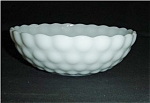 Click here to enlarge image and see more about item 497: Anchor Hocking Large Milk Glass Bubble Bowl