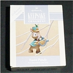 Click here to enlarge image and see more about item 497h:  Hallmark Easter Ornament