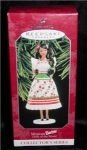 Click here to enlarge image and see more about item 4h: Hallmark Ornament Mexican Barbie