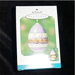 Click here to enlarge image and see more about item 502h: 2001 Spring Chick Hallmark Ornament