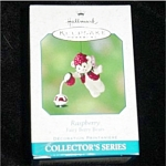 Click here to enlarge image and see more about item 503h: 2001 Raspberry Bear Hallmark Ornament