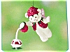 Click to view larger image of 2001 Raspberry Bear Hallmark Ornament (Image2)
