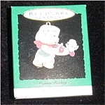 1992 Country Fiddling Mini Hallmark Ornament