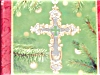 Click to view larger image of 2001 Beautiful Cross Hallmark Ornament (Image2)