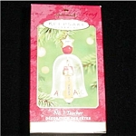 2001 #1 Teacher Hallmark Ornament