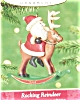 Click to view larger image of 2001 Rocking Reindeer Hallmark Ornament (Image2)
