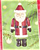 Click to view larger image of 2001 Santa Time Capsule Hallmark Ornament (Image2)