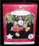 Click here to enlarge image and see more about item 51h: Hallmark Ornament Ready for Christmas