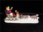 Click here to enlarge image and see more about item 523: Department 56 Snow Village King & Queen