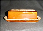 Click here to enlarge image and see more about item 523s: Hull Butter Dish