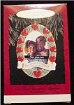 Click here to enlarge image and see more about item 525h: 1993 Our 1st Christmas Together Ornament