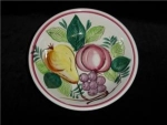 Click here to enlarge image and see more about item 527: Fruit Pattern Salad Bowl