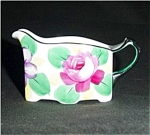 Click here to enlarge image and see more about item 529s: Meito China Floral Design Creamer