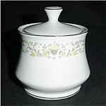 Click here to enlarge image and see more about item 536s: Florentine Fine China Sugar Bowl