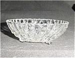 Click here to enlarge image and see more about item 537s: Anchor Hocking Footed Desert Bowl