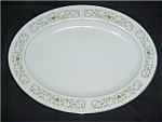 Click here to enlarge image and see more about item 542s: Florentine Fine China Platter