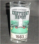 Click here to enlarge image and see more about item 546s: 1983 Libbey Kentucky Derby Glass