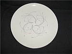 Click here to enlarge image and see more about item 547s: Homer Laughlin Capri Dinner Plate