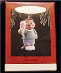Click here to enlarge image and see more about item 550h: 1994 Grandson Hallmark Ornament