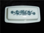 Click here to enlarge image and see more about item 557: Pyrex  Butter Dish