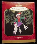 1999 Maxine On Thin Ice Hallmark Ornament