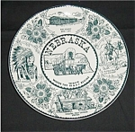Click here to enlarge image and see more about item 562s: Enco Nebraska Collectors Plate