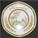Click to view larger image of Decorative Plate Made in Japan (Image1)