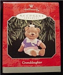 1998 Granddaughter Hallmark Ornament
