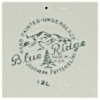 Click to view larger image of Blue Ridge Dinner Plate (Image2)
