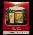 Click here to enlarge image and see more about item 577h: 1997 Little Boy Blue Hallmark Ornament