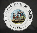 Click here to enlarge image and see more about item 580s: United States of America 1776 Plate