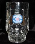 Click here to enlarge image and see more about item 581: Giinzburger Weizenbier Beer Mug