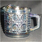 Click here to enlarge image and see more about item 593s: Indiana Carnival Glass Creamer