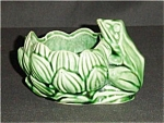 Click here to enlarge image and see more about item 596s: Frog Planter McCoy ??