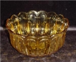 Click here to enlarge image and see more about item 597: Amber Fruit Bowl